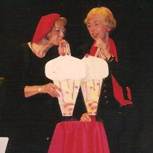 kabaretselskip Noordenbos en Ko lege-nest